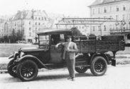 1899 - Gründung des Transportunternehmens in München von Hans Bierschneider